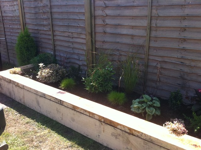 Raised beds - Click to make an enquiry